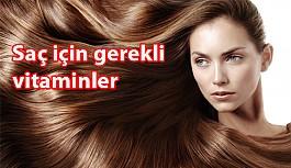 Saç için gerekli vitaminler