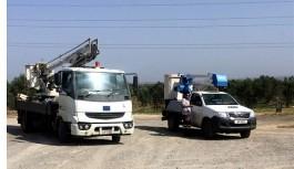 Kıb-Tek 11 kV izolatör değişimi çalışmalarına...