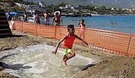 Çocuklar yarışarak eğlendi