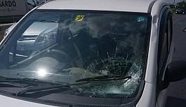 Aracın çarptığı yaya yaralandı