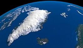 Grönland Buzullarının Altında Devasa...