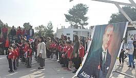Haspolat İlkokulu, Atatürk'ü andı