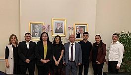 Özyiğit, Kıbrıs Türk Gençlik Birliği ile görüştü