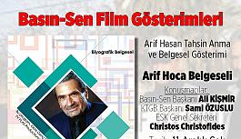 Arif Hoca Belgeseli Basın-Sen'de gösterilecek