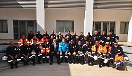 Değirmenlik Belediyesi AFAD ekibi eğitimden...