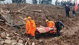 Çin'de toprak kayması: 10 ölü