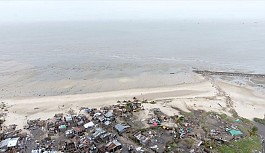Tropik fırtına Mozambik'i vurdu