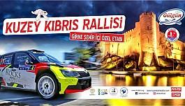 Ralli heyecanı Girne'de başlayacak