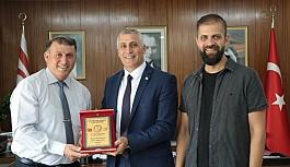 Amcaoğlu, Atıcılık Federasyonu yetkilileri ile görüştü