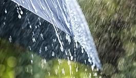 İskele'de metrekareye 70 kg yağış
