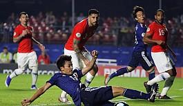 Şili Japonya'yı dağıttı