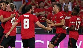 Man'U Inter'i tek golle geçti