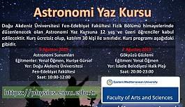 DAÜ Fizik Bölümü'nden astronomi kursu