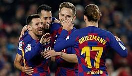 Barcelona Messi'nin rekoruyla galip