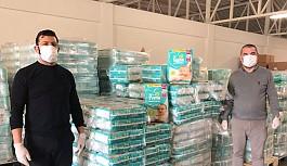Ramadan Cemil İşletmeleri'nden Kızılay'a 4.500 adet yardım paketi