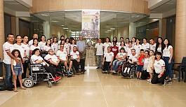 UKÜ ve Levent sporcuları Özer Boyacı'yı 3. ölüm yıl dönümünde andı