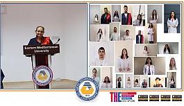 DAÜ Sağlık Bilimleri Fakültesi 2019-2020 Bahar Mezunları için yemin töreni düzenledi