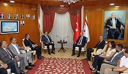 Tatar, Ticaret Odası yeni yönetimini kabul etti