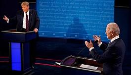 Trump-Biden tartışmasında hakaretler havada uçuştu