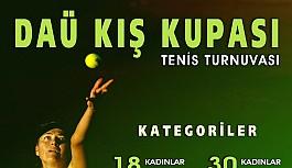 DAÜ'de tenis turnuvası ertelendi