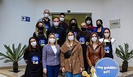 Kuzey Kıbrıs Turkcell çalışanları Tanya'yı duygulandırdı
