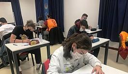 TED Kuzey Kıbrıs Kolejinde YKS soru kampı gerçekleştirildi