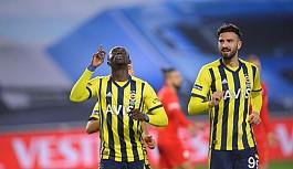 Fenerbahçe'de golcüler sınıfta kaldı