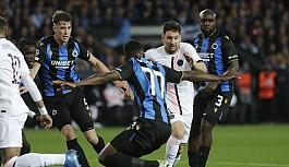Şampiyonlar Ligi'nde PSG'ye Brugge çelmesi