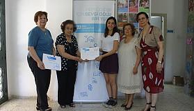 Kadınlardan SOS'e anlamlı bağış