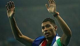Van Niekerk yeni bir dünya rekoru