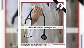 Niyetiniz Devlet Hastanelerini Kapatmak mı?