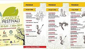 6. Kalkanlı Çakisdez Festivali, 29 Eylül'de başlıyor