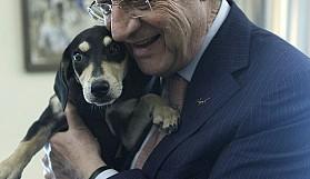 Anastasiadis'in köpek sevgisi başka