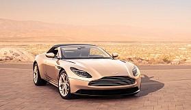 Aston Martin'in üstü açık modeli DB11