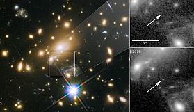 Bugüne dek görüntülenen en uzak yıldız