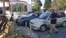 Tek yön gelen sürücü kazaya neden oldu