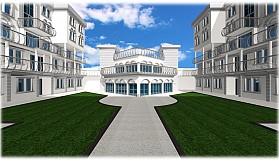 Girne'ye modern rezidans