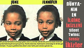 Ürkütücü ikizlerin sıradışı hikayesi