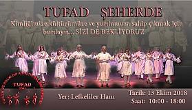 TUFAD Şeherde ll. cumartesi Lefkeliler Hanında