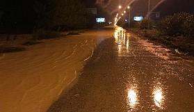 Dikmen'i sel suları bastı