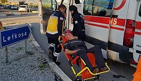 8 eylemci hastanelik oldu