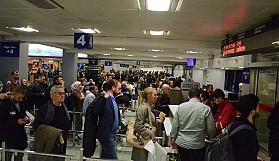 Ercan'a 120 saatte 47 bin 772 yolcu