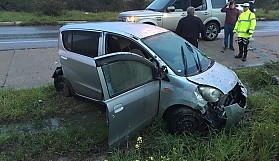 Ayni yerde bir saat arayla iki kaza
