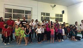 Cimnastikçiler 23 Nisan'da yarıştılar