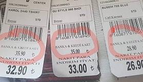Kredi kartına başka, nakite başka fiyat olmamalı