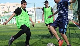 Gençlerin futbol tutkusu başka