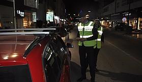 Bir gecede 169 sürücüye ceza