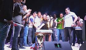 Göçmenköy şampiyonluğunu kutladı