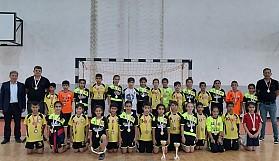 İlkokullarası hentbol birinciliğinde şampiyonlar belirlendi