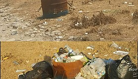Çöp yığınlarını gördükçe insanlığımdan utanıyorum